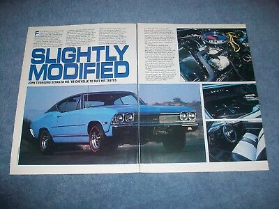 "1968 Chevelle Malibu Vintage RestoRod Article ""Slightly Modified"""