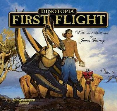 NEW Dinotopia, First Flight By JAMES GURNEY Hardcover Free Shipping
