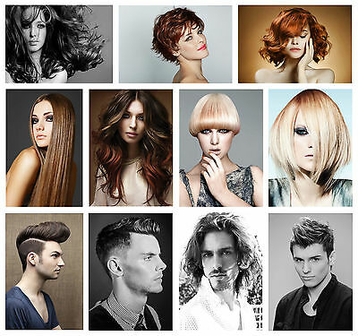 Hairdresser Barber Hair Salon Hairstyle A3 A4 Posters Buy 1 Get 2 Free