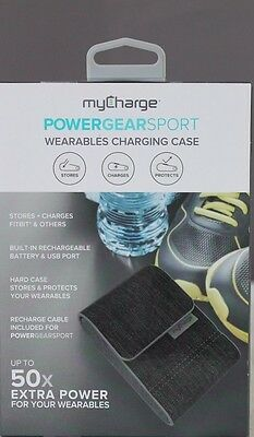myCharge PS20GG-A PowerGear Sport Grey / Stores & Charges Fitbit & More