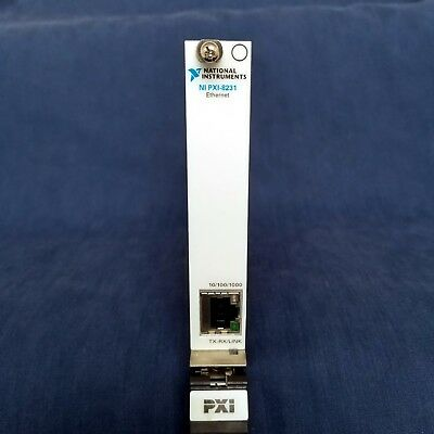 National Instruments NI PXI‑8231 1-Port Gigabit PXI Ethernet Interface Module