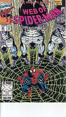 WEB OF SPIDERMAN 98...NM-  ..1993...My Enemy's Enemy Part 2 of 4!....Bargain!