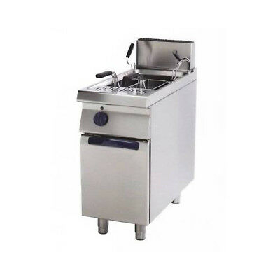 Pasta cooker to professional gas tank 26 liters cm 40x70x85 RS0768