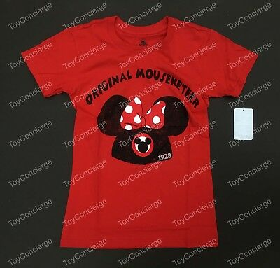 DISNEY Store TEE for Women MINNIE Mouse MOUSEKETEER ICON T Shirt Choose Size NWT