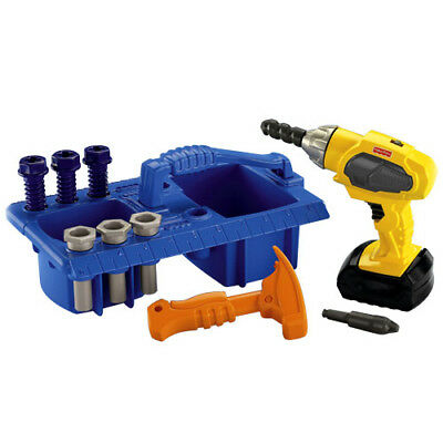 Fisher Price Drilling Action Tool Set & Caddy With Actions & Sounds