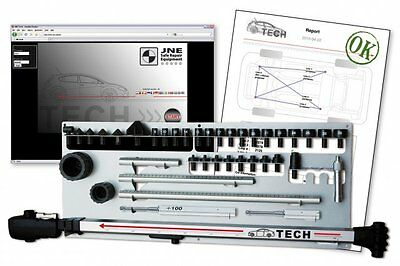 Allvis Tec-D Digital Measuring Sys W/laptop-Print Out-No Vehicle Data Included