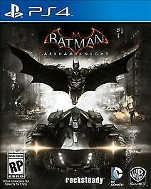 Batman: Arkham Knight (PlayStation 4, 2015) PS4 Complete