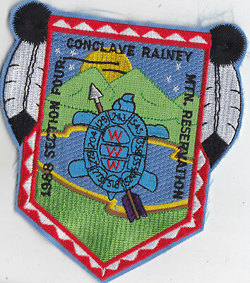 1988 Section 4 Conclave  Patch @ Rainey Mountain Reservation Oa T10