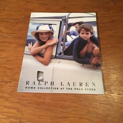 Ralph Lauren Home Collection  at the Polo Store Brochure  Spring 1997       Rare