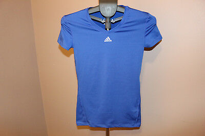 adidas Men's CLIMALITE short Sleeve Tee Athletic Slim Fit Shirt XS