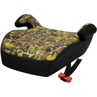 Youth Booster Car Seat No Back Camo Hunting Kid Toddler Portable Padded Child