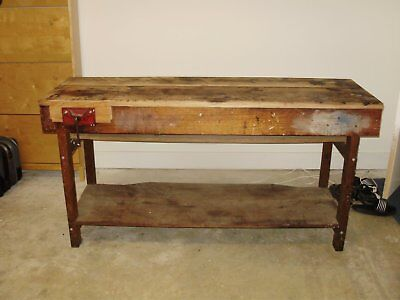 Hand made Wooden carpenters bench