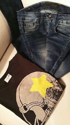 Jeans Klixs Slim Fit + 1 Shirt Bellerose + 1 Shirt Simpson Bambino 12 A