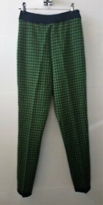 Fabulous vintage retro Wendy Heather knit pants 8,10