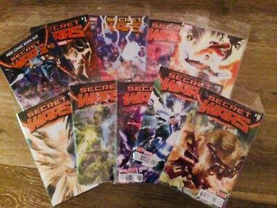 Marvel Secret Wars Issue #0 to 9 Complete Series