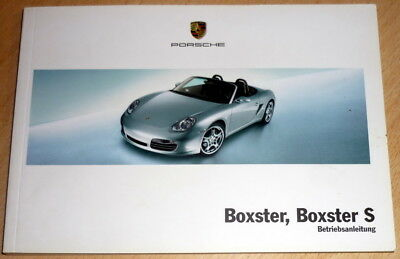 Betriebsanleitung,owner's manual Porsche BOXSTER,BOXSTER S,anno 2004.