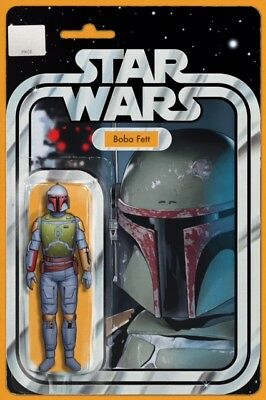 Boba Fett Action Figure Variant Star Wars #4  John Tyler Christopher