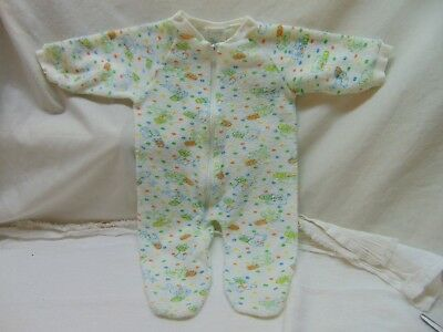 **Vintage** Baby Size 0/3 or 3/6 Months Terry Cloth Sleeper