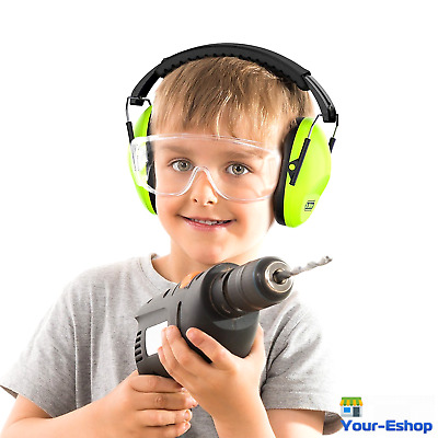 Kids Hearing Protection Ear Muffs Noise Cancelling Earmuffs Headphone Adjustable