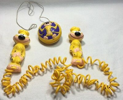 Disney Marsupilami 1994 Yo-yo Fast Food PIZZA HUT toy promo Yo-Yo & Jump Rope