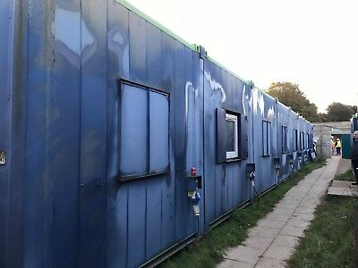 32ft x 80ft 8 BAY MODULAR BUILDING , SITE OFFICE, SITE SET UP, PRE FAB BUILDING