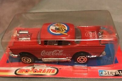 Coca Cola Majorette 200 Series Metal Car 1997