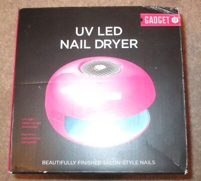 UV LED NAIL DRYER by Gadget Co - New in Box