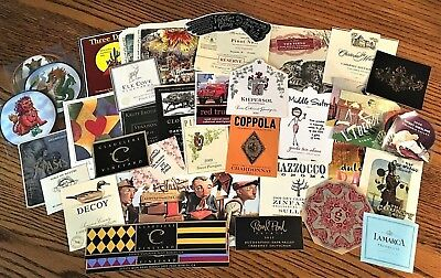 50 + WINE LABELS  New Unused