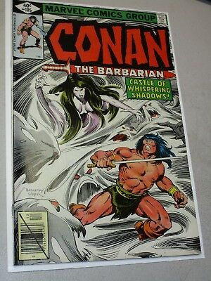 CONAN (CONAN THE BARBARIAN)(MARVEL) (1970 Series) #105 NEWSSTAND High Grade