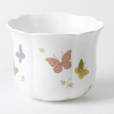 New Royal Crown Derby 1st Quality Butterfly Gardenia Planter