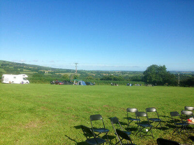 Campsite stay in West Wales - Spacious and rural location with stunning views