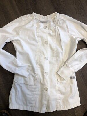Butter Soft Twill Stretch Lab Coat Size Small