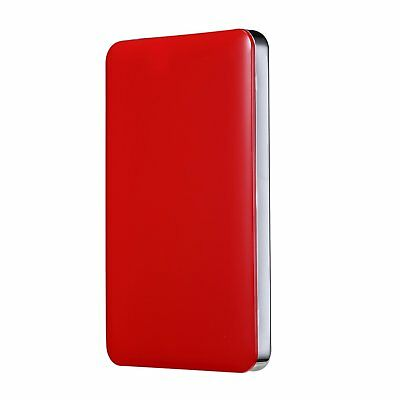 Bipra U3 2.5 inch USB 3.0 FAT32 Portable External Hard Drive - Red 80GB