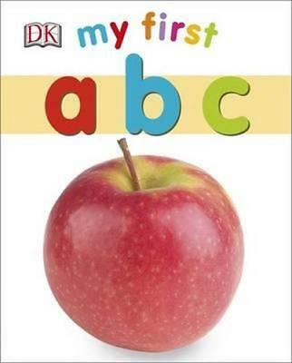 NEW My First ABC By Dorling Kindersley Board Book Free Shipping