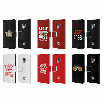 Official Wwe Sasha Banks Leather Book Wallet Case Cover For Samsung Phones 1