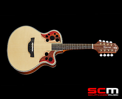 HAND MADE IN KOREA! CRAFTER M88E/N ACOUSTIC-ELECTRIC MANDOLIN Natural w/ GIG BAG