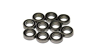 RCS Model MR148-2RS High Precision Bearing (8x14x4mm, 10pcs) CS730
