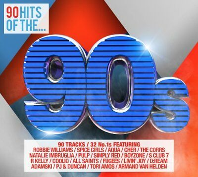 Various Artists - 90 Hits Of The 90s - Various Artists CD 6QVG The Fast Free