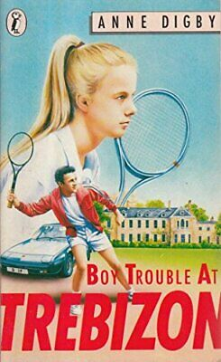 Boy Trouble at Trebizon (Puffin Books) by Anne, Digby Paperback Book The Cheap