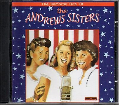 Andrews Sisters - Immortal Hits - The Entertainers - 1999 - 27 Tracks