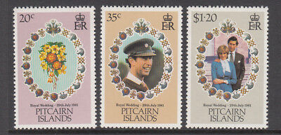 1981 Princess Diana Royal Wedding set MNH (C) Combined postage available for $1