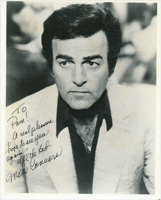 Mike Connors - Inscribed Photograph Signed