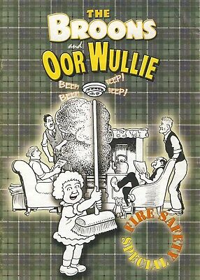 The Broons & Oor Wullie 2004 Fire Safety Special Booklet