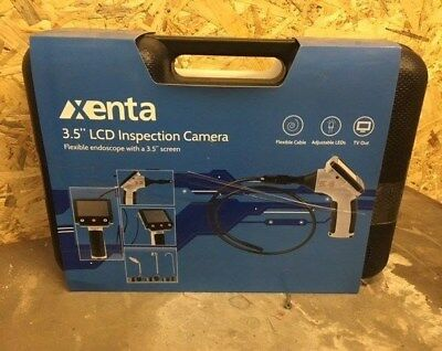 """Xenta Flexible Endoscope LCD InspectionCamera with 3.5"""" Screen"""