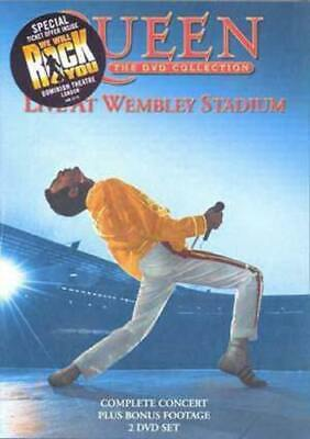 Queen: Live at Wembley Stadium DVD (2003) Queen cert E FREE Shipping, Save £s