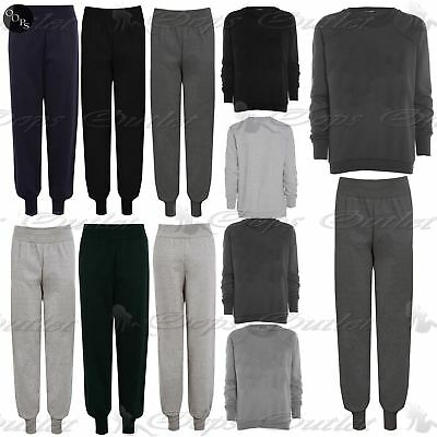 Womens Plus Size Tracksuits Ladies Sweats Fleece Tracks Jog Bottoms Jogger Pants