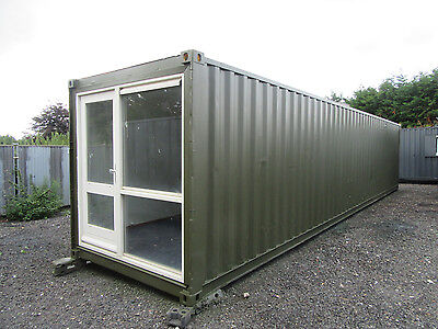 40ft x 8ft ACCOMMODATION UNIT, SLEEPER UNIT, SUMMER HOUSE, HOTEL HOSTEL, LOOK