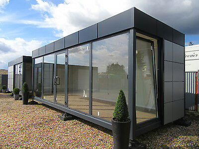 24ft x 10ft MARKETING SUITE, SHOWROOM, SALES OFFICE, SITE CABIN, £13250 + VAT
