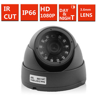 1080P 2.4MP SONY HD TVI AHD CVI ANALOGUE 4 IN 1 CCTV DOME CAMERA 3.6mm 20m IR