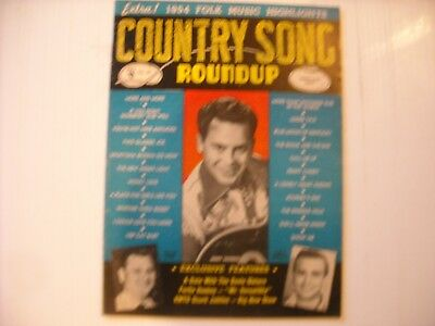 Country Song Roundup Magazine Vol. 1 No. 86 January 1955 Jimmy Dickens Cover!